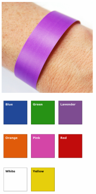Patient Alert Wristbands