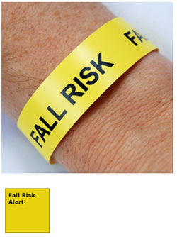 Patient Fall Alert Wristband