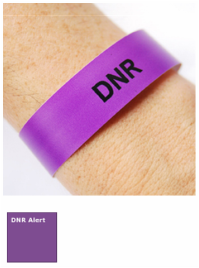 DNR Alert Wristbands