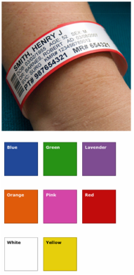 Adult ID Wristbands