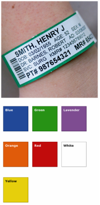 Tyvek Identification Wristbands